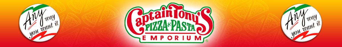 Captain Tony's Pizza Franchise Banner 2