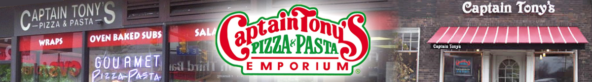 Captain Tony's Pizza Franchise Banner 3
