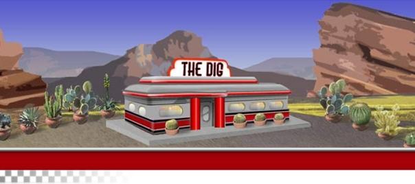 Dig Diner Banner