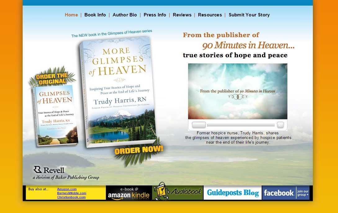 Glimpses of Heaven Book