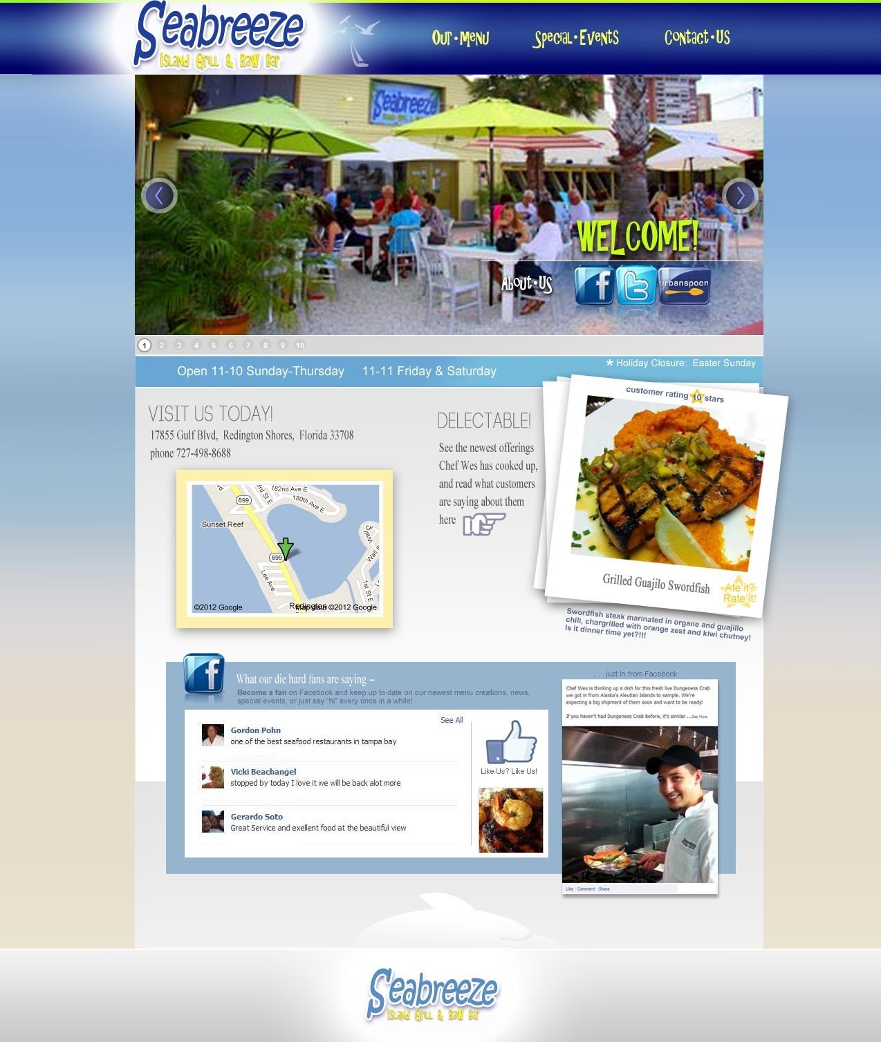 Seabreeze Island Grill